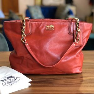 Authentic Coach Madison Tote Bag F1275-20466